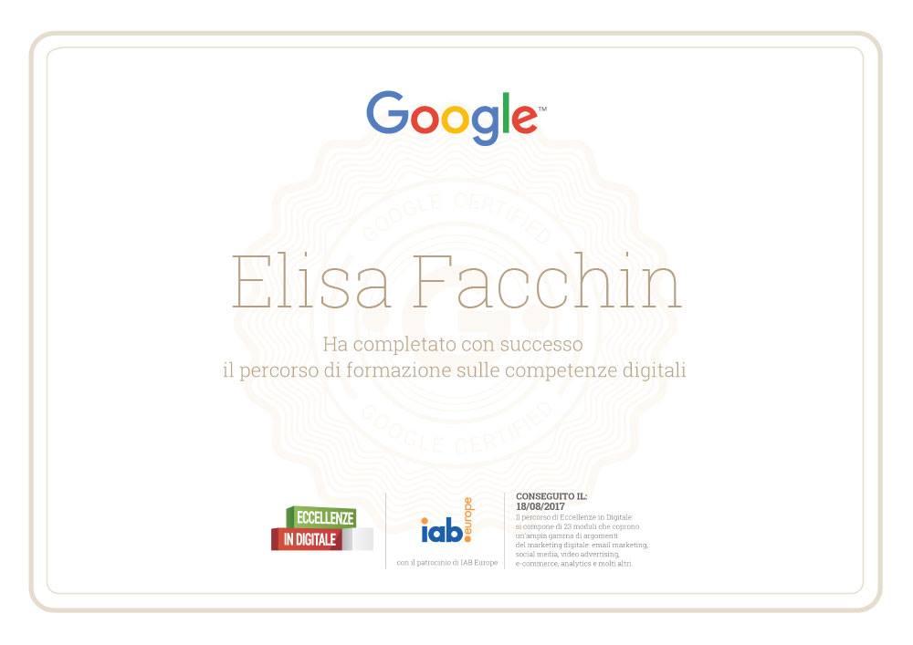 certificato-google-elisa